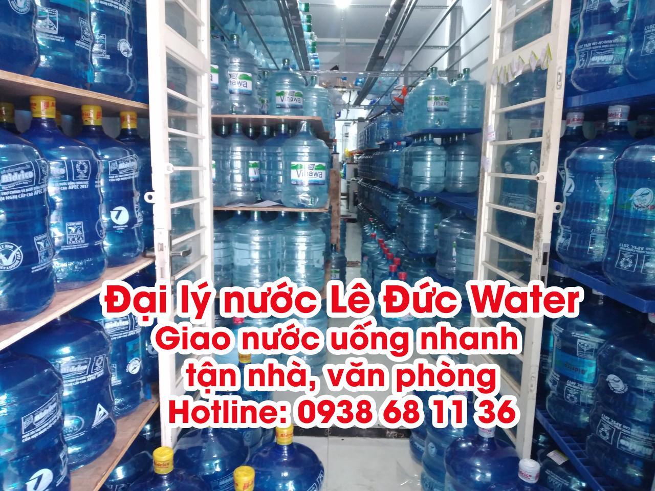 Đại lý giao nước uống Lê Đức Water